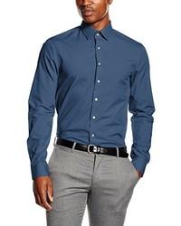 Camisa de vestir azul de Calvin Klein