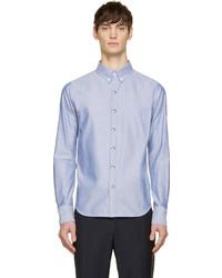 Camisa de vestir azul de Moncler