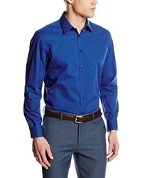 Camisa de Vestir Azul de Seidensticker