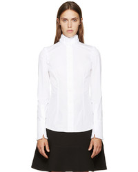 Camisa de vestir blanca de Alexander McQueen