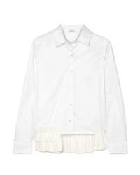 Camisa de vestir blanca de Clu