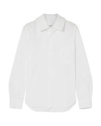 Camisa de vestir blanca de Comme Des Garcons Comme Des Garcons