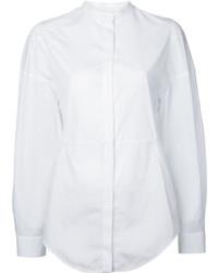Camisa de Vestir Blanca de Courreges