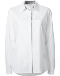 Camisa de vestir blanca de Diane von Furstenberg
