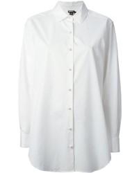 Camisa de vestir blanca de DKNY
