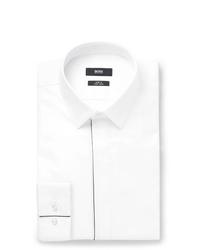 Camisa de vestir blanca de Hugo Boss