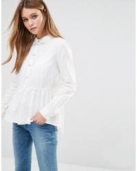 Camisa de vestir blanca de Jdy