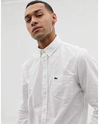 Camisa de vestir blanca de Lacoste