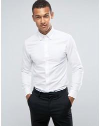 Camisa de vestir blanca de Mango