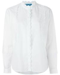 Camisa de Vestir Blanca de MiH Jeans