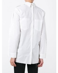 Camisa de vestir blanca de MM6 MAISON MARGIELA