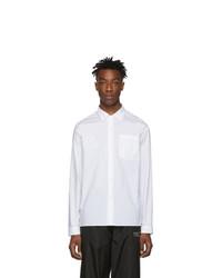 Camisa de vestir blanca de Moncler Genius