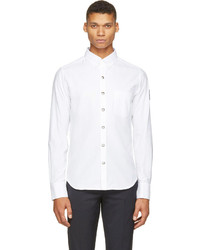 Camisa de vestir blanca de Moncler