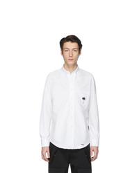 Camisa de vestir blanca de Palm Angels