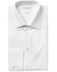 Camisa de vestir blanca de Richard James