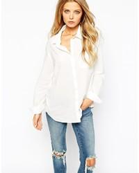 Camisa de vestir blanca de Vila