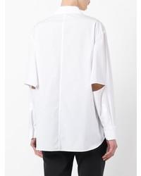 Camisa de vestir blanca de Yohji Yamamoto