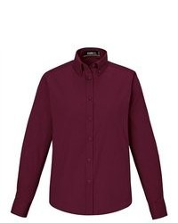 Camisa de vestir burdeos original 1278195