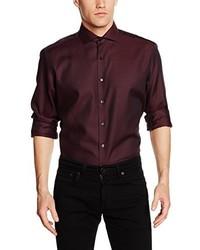 Camisa de vestir burdeos de Eterna Mode GmbH