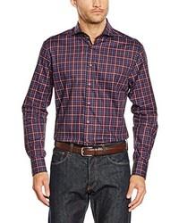 Camisa de vestir burdeos de Jacques Britt