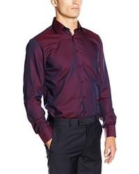 Camisa de vestir burdeos de Venti
