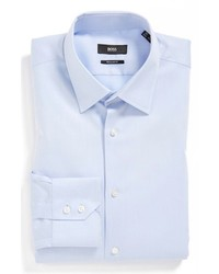 Camisa de vestir celeste original 2899293