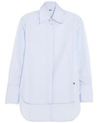 Camisa de vestir celeste de ADAM by Adam Lippes