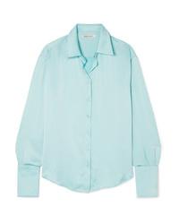 Camisa de vestir celeste de Anna Quan