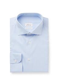 Camisa de vestir celeste de Brioni