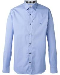 Camisa de vestir celeste de Burberry