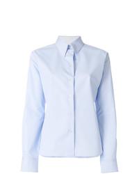 Camisa de vestir celeste de Calvin Klein 205W39nyc
