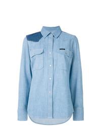 Camisa de vestir celeste de Calvin Klein Jeans