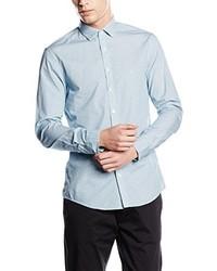 Camisa de vestir celeste de Calvin Klein