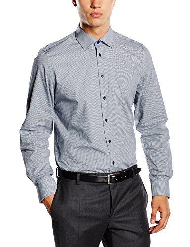 Camisa de vestir celeste de Daniel Hechter