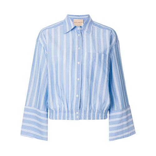 Camisa de vestir celeste de Erika Cavallini
