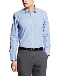 Camisa de vestir celeste de ESPRIT Collection