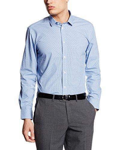 Camisa de vestir celeste de ESPRIT Collection