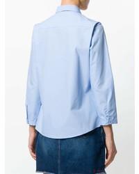 Camisa de vestir celeste de Essentiel Antwerp