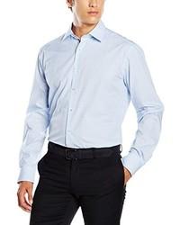 Camisa de vestir celeste de Eterna Mode GmbH
