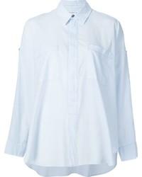 Camisa de Vestir Celeste de Helmut Lang