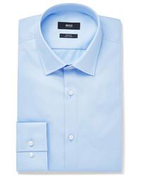 Camisa de vestir celeste de Hugo Boss