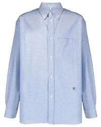 Camisa de vestir celeste de Loewe