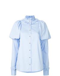 Camisa de vestir celeste de Macgraw