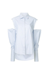 Camisa de vestir celeste de Maggie Marilyn