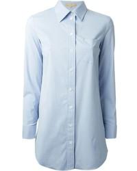 Camisa de vestir celeste de Michael Kors