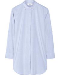 Camisa de vestir celeste de MiH Jeans