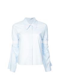 Camisa de vestir celeste de MM6 MAISON MARGIELA