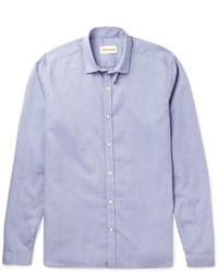 Camisa de vestir celeste de Oliver Spencer