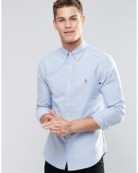 Camisa de vestir celeste de Polo Ralph Lauren