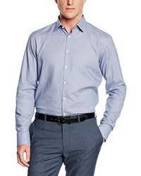 Camisa de vestir celeste de Purple Label by Benvenuto